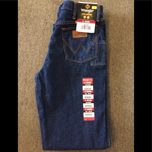 937fc60861d8 Wrangler FR flame resistant jeans work wear
